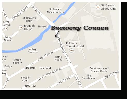 Our Pub - Map