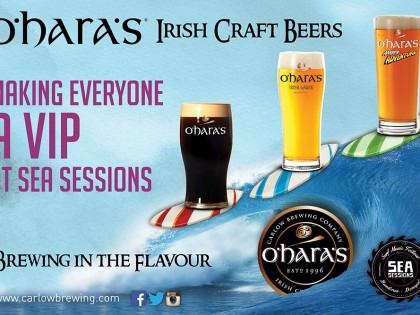 Carlow Brewing Company Hops On Board Sea Sessions