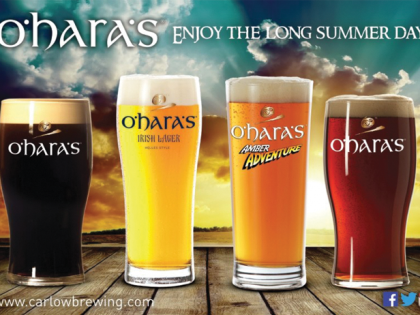 O'Hara's Irish Craft Beers featuring at Light Colour Sound!