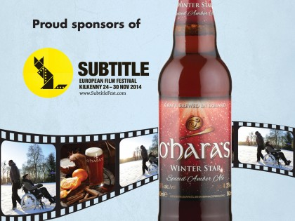 Subtitle European Film Festival now with added O'Hara's Irish Craft Beer!