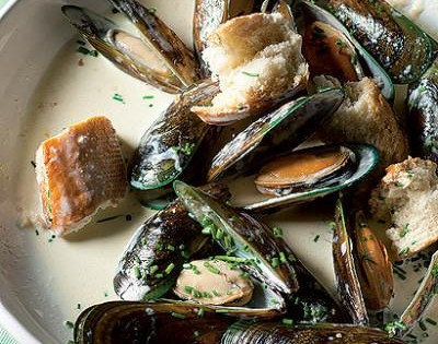 Red Traditional Ale mussels