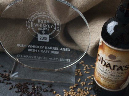 O'Hara's Barrel Aged leann Folláin wins at the Irish Whiskey Awards