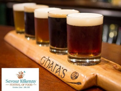 O'Hara's Irish Craft Beers at Savour Kilkenny 2015