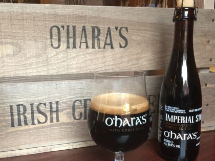 O'HARA'S CELEBRATES 20 YEAR ANNIVERSARY WITH LAUNCH OF 'O'HARA'S IMPERIAL STOUT'.